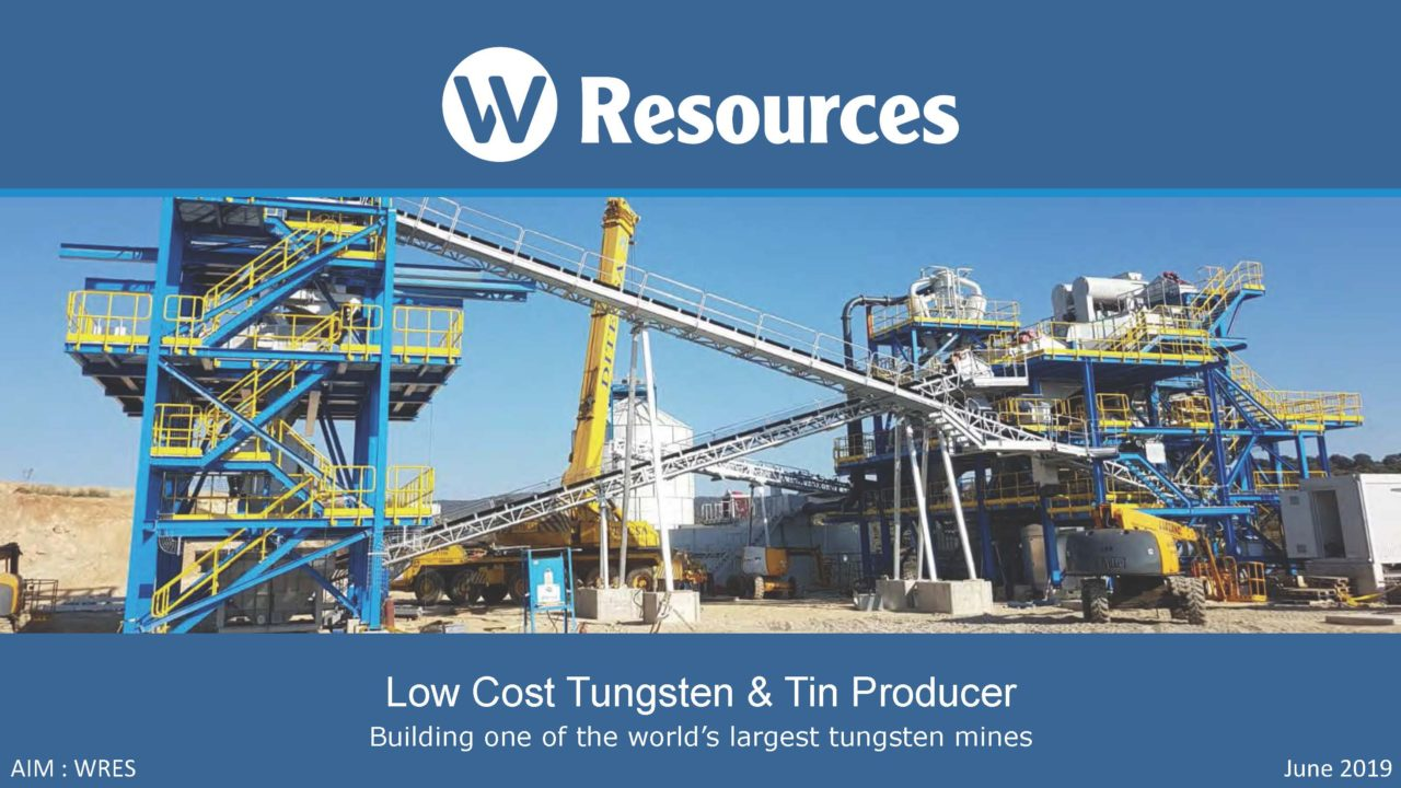 W Resources – European mining company focussed on delivering