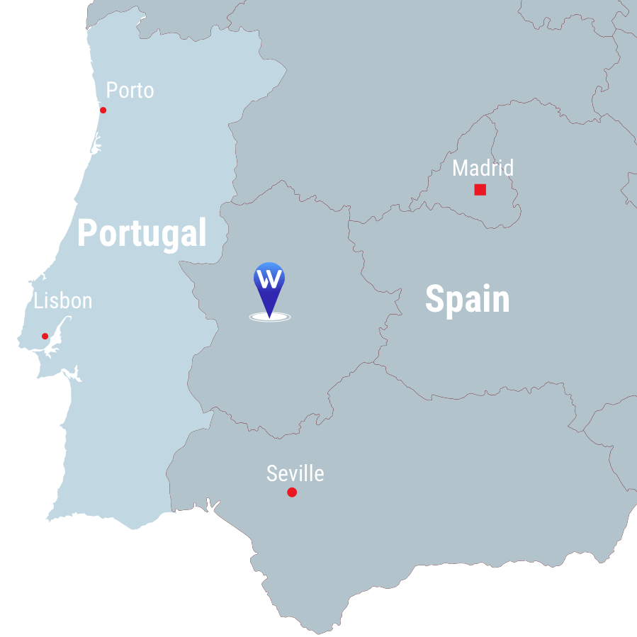 La Parrilla - location map
