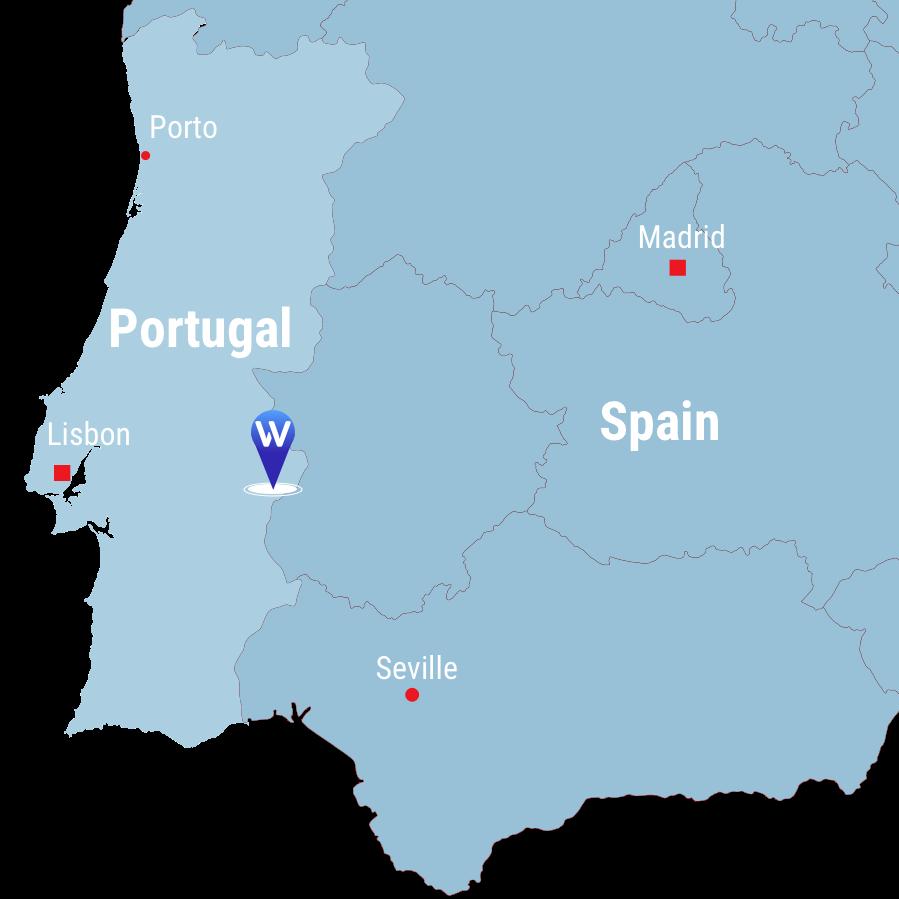 Monforte map