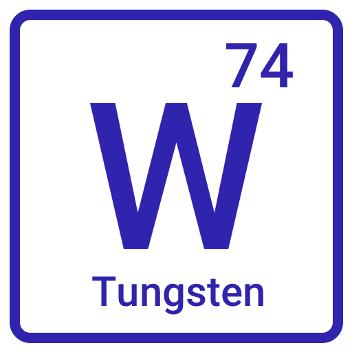 Tungsten - chemical symbol